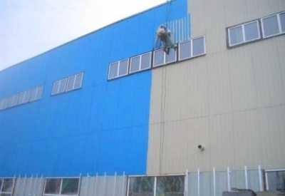 Покраска промышленного здания