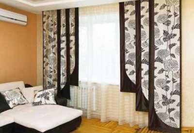 Японские шторы – доказательство того, что жалюзи могут быть красивыми