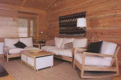 Мягкая мебель для дачи