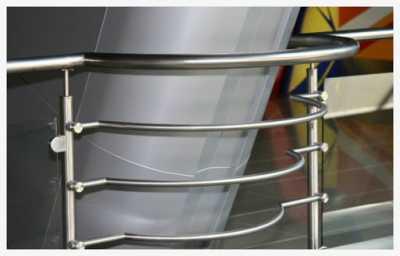 Лестничные ограждения из нержавеющей стали