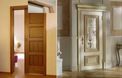 Элитные межкомнатные двери под старину