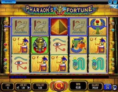 Игровой автомат Фортуна Фараонов